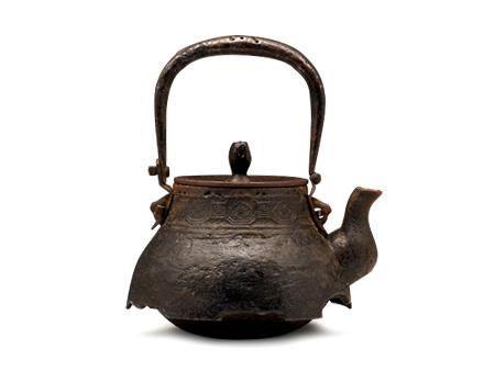 小泉仁左衛門 老鐵壺