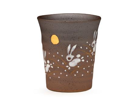 日本九谷燒 月兔 水杯